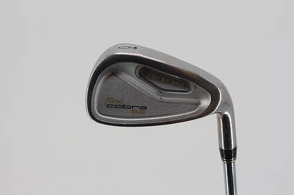 Cobra SS Oversize Single Iron 6 Iron Cobra Precision Microtaper Shaft Steel Regular Right Handed 37.25in