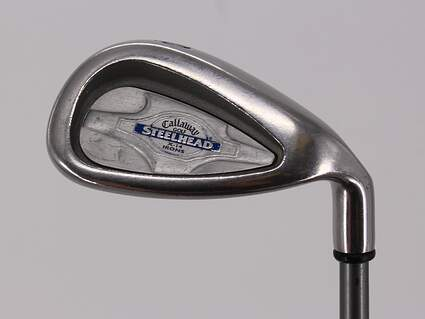 Callaway X-14 Single Iron Pitching Wedge PW Stock Graphite Shaft Graphite Regular Right Handed 35.5in