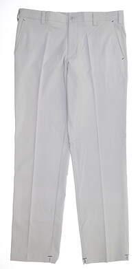 New Mens Adidas Fall Weight Contrast Golf Pants 34 x32 Onix/Black MSRP $90 Z93848