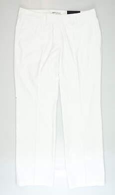 New Womens Nike Golf Pants 14 White MSRP $90 725732