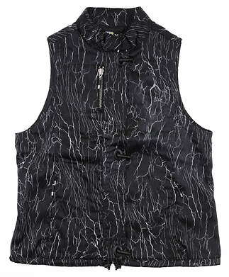 New Womens Jamie Sadock Vest Small S Black MSRP $149 62615