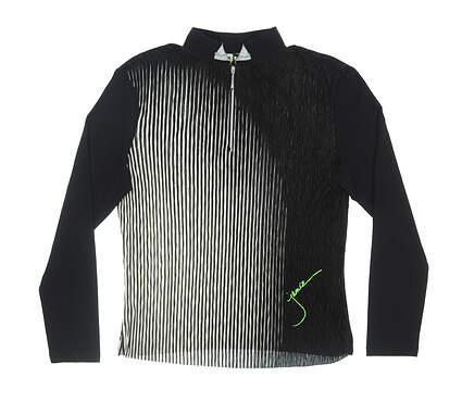 New Womens Jamie Sadock 1/4 Zip Pullover Small S Multi MSRP $95 62132
