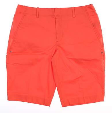 New Womens Ralph Lauren Shorts 6 Orange MSRP $98