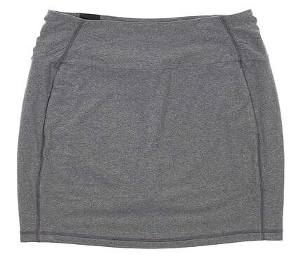 New Womens Under Armour Golf Skort Large L Gray MSRP $70