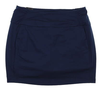 New Womens Under Armour Golf Skort Large L Navy Blue MSRP $70