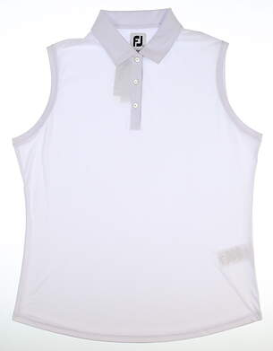 New Womens Footjoy Sleeveless Polo X-Large XL MSRP $75