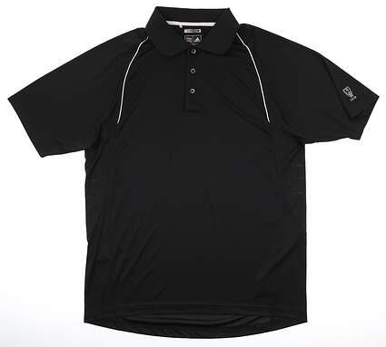 New W/ Logo Mens Adidas Golf Polo Medium M MSRP $65
