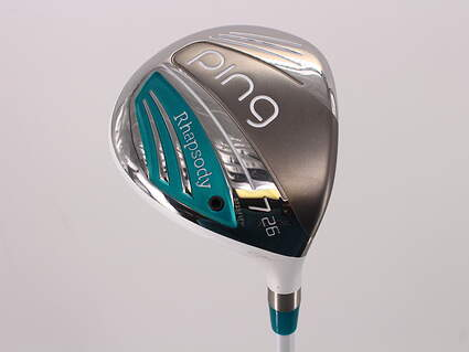 Ping 2015 Rhapsody Fairway Wood 7 Wood 7W 26° Ping ULT 220F Lite Graphite Ladies Right Handed 41.5in