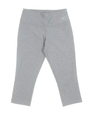 New Womens Nike Leggings X-Small XS Gray MSRP $60 619952 071