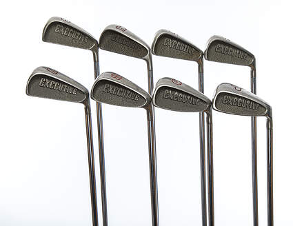 Top Flite Executive Iron Set 3-PW Stock Steel Shaft Spalding Ladies Right Handed 36.75in