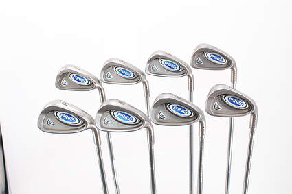 Ping i5 Iron Set 4-PW GW Stock Steel Shaft Steel Regular Right Handed Black Dot 38.5in