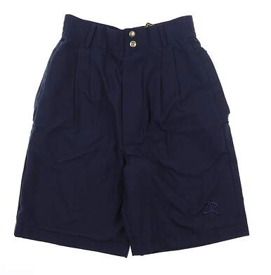 New Womens Zero Restriction Rain Shorts Small S Navy Blue MSRP $148