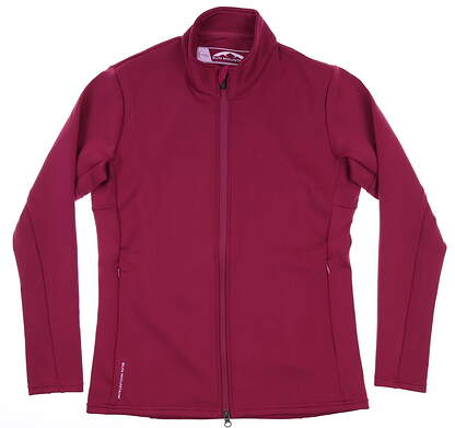 New Womens Sun Mountain ThermalFlex Jacket Small S Berry MSRP $100 J80224