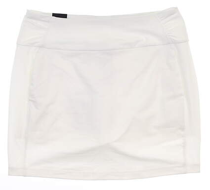 New Womens Under Armour Golf Skort Large White MSRP $65