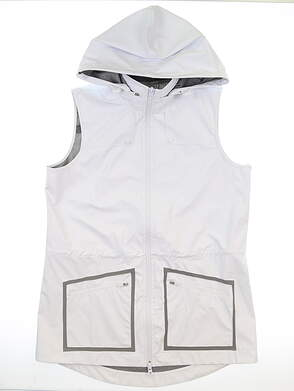 New Womens Jo Fit Moraine Vest Medium M White MSRP $150 UT285-WHT