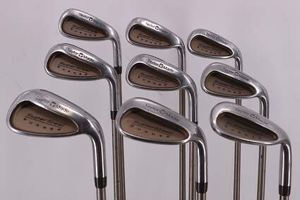 TaylorMade Supersteel Iron Set 4-PW SW LW TM Bubble Graphite Ladies Right Handed 37.25in