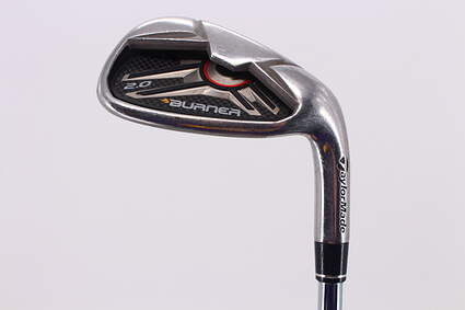 TaylorMade Burner 2.0 HP Single Iron Pitching Wedge PW TM Burner 2.0 85 Steel Regular Right Handed 35.75in
