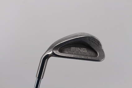 Ping Karsten III Single Iron Pitching Wedge PW Ping ZZ Lite Steel Stiff Left Handed 35.5in