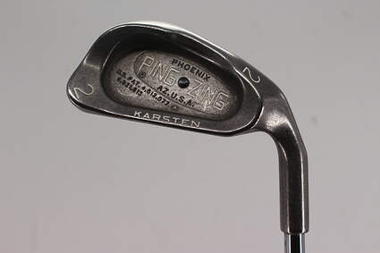 Ping Zing Single Iron 2 Iron Ping KT Steel Stiff Right Handed Black Dot 39.5in
