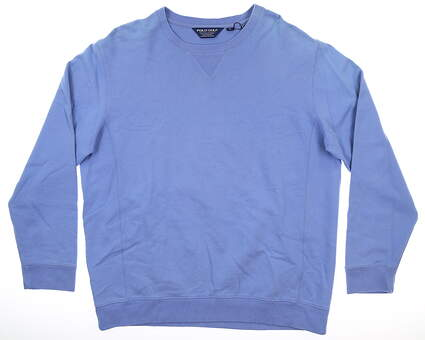 New Mens Ralph Lauren Long Sleeve Crew Neck X-Large XL Blue MSRP $100