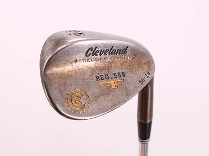 Cleveland 2012 588 Raw Tour Grind Wedge Sand SW 56° 14 Deg Bounce Project X Rifle 6.0 Steel Stiff Right Handed 35.25in