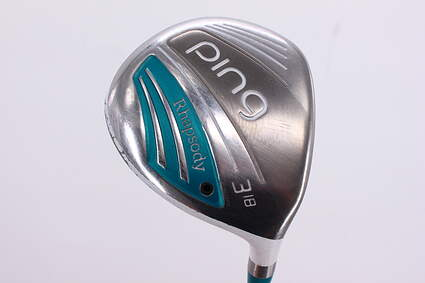 Ping 2015 Rhapsody Fairway Wood 3 Wood 3W 18° Ping ULT 220F Lite Graphite Ladies Right Handed 42.25in