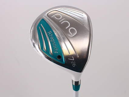 Ping 2015 Rhapsody Fairway Wood 7 Wood 7W 26° Ping ULT 220F Lite Graphite Ladies Right Handed 41.25in