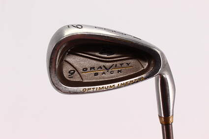 Cobra Gravity Back Single Iron 9 Iron Stock Cobra Graphite Shaft Ladies Right Handed 35.0in