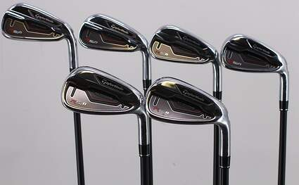 TaylorMade RSi 1 Iron Set 5-PW TM Reax 65 Graphite Regular Right Handed 38.25in