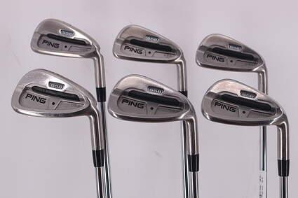 Ping S58 Iron Set 5-PW Stock Steel Shaft Steel Regular Right Handed Black Dot 38.0in