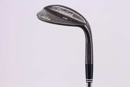 Cleveland CG15 Black Pearl Wedge Lob LW 58° 12 Deg Bounce Cleveland Traction Wedge Steel Uniflex Right Handed 35.25in