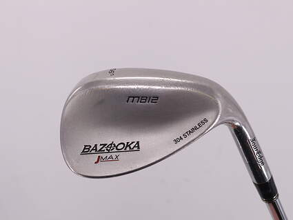 Tour Edge Bazooka Jmax Bounce Stainless Wedge Sand SW 56° Stock Steel Shaft Stiff Right Handed 35.0in
