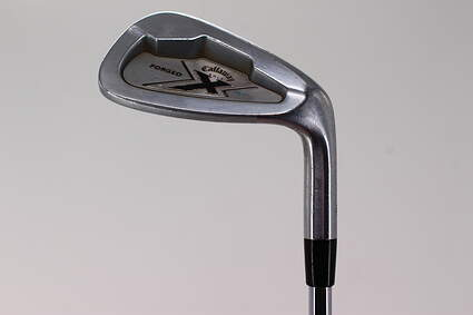 Callaway X Forged Single Iron Pitching Wedge PW Rifle Flighted 6.0 Steel Stiff Right Handed 35.25in