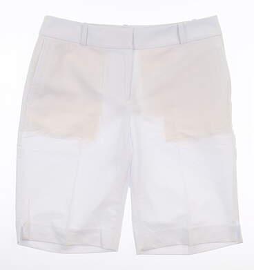 New Womens Fairway & Greene Millie Golf Shorts 2 White MSRP $85 J32181