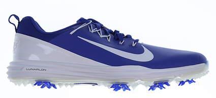 New Mens Golf Shoe Nike Lunar Command 2 10 Blue MSRP $135 849968 500