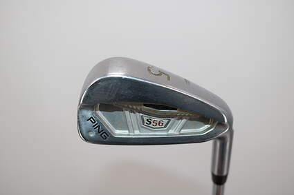 Ping S56 Single Iron 5 Iron True Temper Dynamic Gold X100 Steel X-Stiff Right Handed White Dot 38.0in