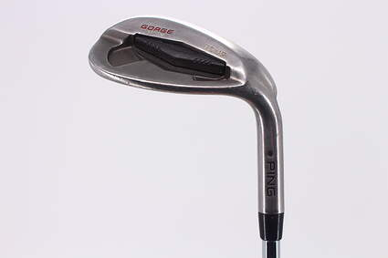 Ping Tour Gorge Wedge Lob LW 58° Thin Sole Ping CFS Steel Stiff Right Handed Black Dot 35.25in