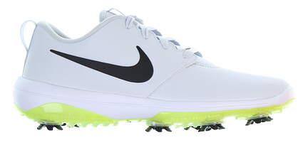 New Mens Golf Shoe Nike Roshe Tour G 8.5 Platinum/Lime MSRP $110 AR5580 002