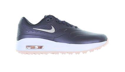 New Womens Golf Shoe Nike Air Max 1 G Medium 7 Gridiron/Echiquer MSRP $120