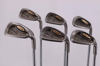 Ping i3 Oversize Iron Set 5-PW Ping JZ Steel Stiff Right Handed White Dot 37.75in