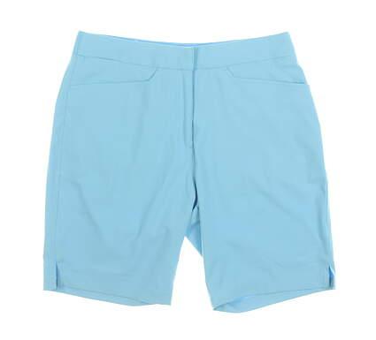 New Womens Puma Bermuda Shorts Small S Blue MSRP $65 577944