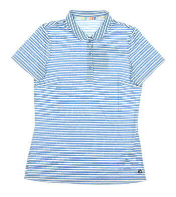 New Womens Puma Drive Polo Small S Palace Blue MSRP $55 595820