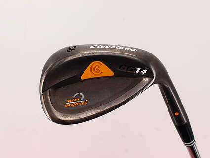 Cleveland CG14 Gunmetal Wedge Sand SW 56° Cleveland Traction Wedge Steel Wedge Flex Right Handed 35.5in