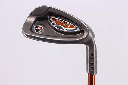 Ping i10 Single Iron 8 Iron 8° Ping TFC 129I Graphite Regular Right Handed Black Dot 36.75in