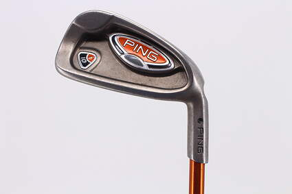 Ping i10 Single Iron 3 Iron Ping TFC 129I Graphite Regular Right Handed Black Dot 39.0in