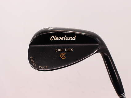 Cleveland 588 RTX Black Pearl Wedge Sand SW 56° 14 Deg Bounce True Temper Dynamic Gold Steel Wedge Flex Right Handed 35.5in