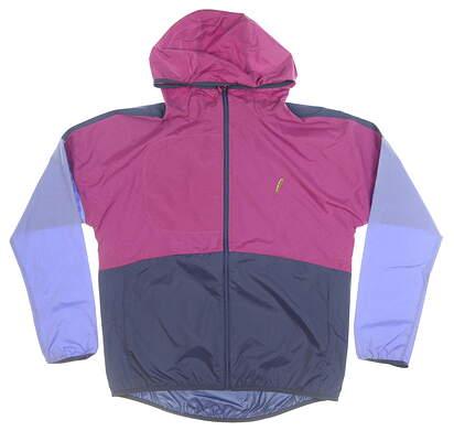 New W/ Logo Womens Zero Restriction Bradshaw Wind Jacket Small S Multi MSRP $160 W1034L