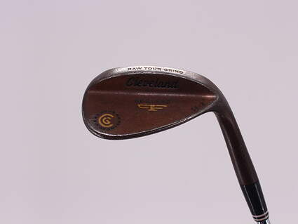 Cleveland 2012 588 Raw Tour Grind Wedge Sand SW 56° 8 Deg Bounce True Temper Dynamic Gold Steel Wedge Flex Right Handed 35.5in
