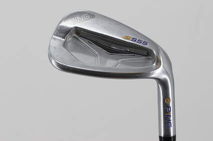 Ping S55 Single Iron Pitching Wedge PW Dynamic Gold Tour Issue X100 Steel X-Stiff Right Handed Yellow Dot 36.0in