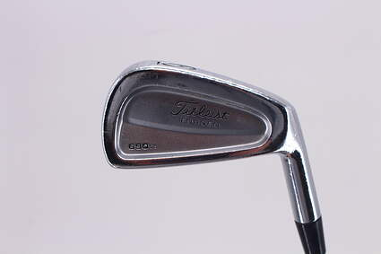 Titleist 690 CB Forged Single Iron 6 Iron True Temper Dynalite Gold Steel Regular Right Handed 37.5in